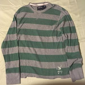 American Eagle Outfitters Shirts - American Eagle Outfitters vintage fit striped XXL
